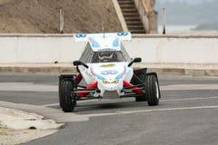 Rally Cross Prototype during Rally Sprint Royalty Free Stock Photos