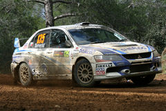 Rally of Cyprus Stock Photos