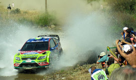 Rally d'Italia Sardegna 2009 - Hirvonen Royalty Free Stock Photography
