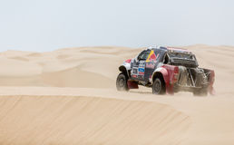 Rally Dakar 2013 Royalty Free Stock Photography