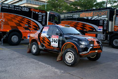 RALLY DAKAR Stock Image