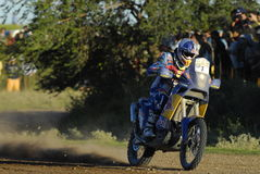 Rally Dakar Argentina Chile 2009. Motorcycle in Rally Dakar Argentina Chile 2009 Stock Image