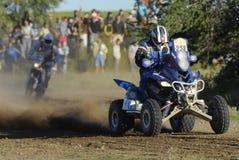 Rally Dakar Argentina Chile 2009. Quad in Rally Dakar Argentina Chile 2009 Royalty Free Stock Photography