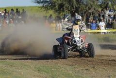 Rally Dakar Argentina Chile 2009. Quad in Rally Dakar Argentina Chile 2009 Stock Photo