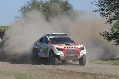Rally Dakar Argentina Chile 2009. 4x4 Vehicle in Rally Dakar Argentina Chile 2009 Stock Photography