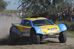 Rally Dakar Argentina Chile 2009. 4x4 Vehicle in Rally Dakar Argentina Chile 2009 Stock Photo