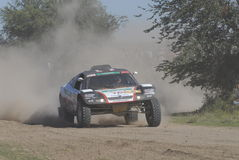 Rally Dakar Argentina Chile 2009 Royalty Free Stock Images