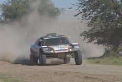 Rally Dakar Argentina Chile 2009. 4x4 Vehicle in Rally Dakar Argentina Chile 2009 Royalty Free Stock Images