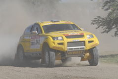 Rally Dakar Argentina Chile 2009. 4x4 Vehicle in Rally Dakar Argentina Chile 2009 Stock Photos