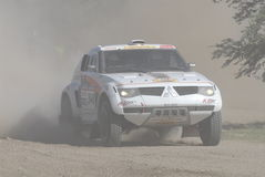 Rally Dakar Argentina Chile 2009 Royalty Free Stock Photography