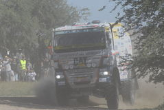 Rally Dakar Argentina Chile 2009. 4x4 Truck in Rally Dakar Argentina Chile 2009 Stock Image