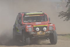 Rally Dakar Argentina Chile 2009 Royalty Free Stock Photos