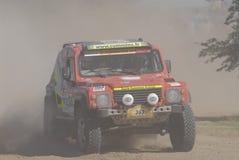 Rally Dakar Argentina Chile 2009. 4x4 Vehicle in Rally Dakar Argentina Chile 2009 Royalty Free Stock Photos