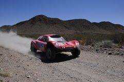 Rally DAKAR Argentina - Chile 2010 Stock Photo