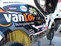 A Rally Dakar Car Royalty Free Stock Images