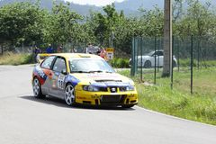 34 Rally de  Aviles Historicos royalty free stock images