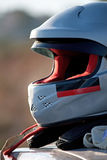 Rally driver's helmet Royalty Free Stock Images