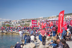 Rally, 2015 elections, turkey Stock Image
