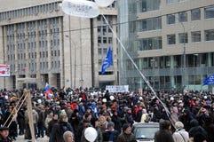 Rally for Fair Elections Stock Photos