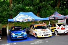 Rally. Grand Prix of Brasov City Stock Photos