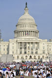Rally for immigration reform Royalty Free Stock Image