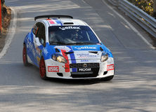 Rally International du Valais Stock Image