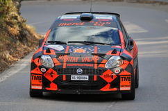 Rally International du Valais Royalty Free Stock Photo