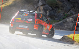Rally International du Valais Stock Photography