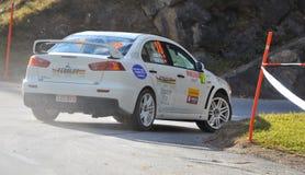Rally International du Valais Royalty Free Stock Photo