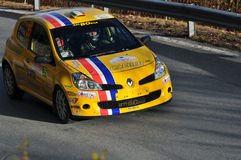 Rally International du Valais Stock Images