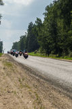 The rally in the Kaluga region, dedicated to the celebration of a Russian military holiday - the day of airborne forces on 2 Augus Royalty Free Stock Image