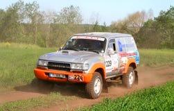 Rally marathon Transorientale 2008 Royalty Free Stock Photos