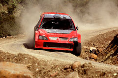 Rally Mexico WRC 2004 Royalty Free Stock Image