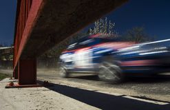 Rally motion Royalty Free Stock Photography