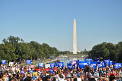 Rally On The National Mall Stock Photography