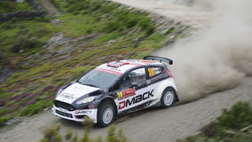 Rally portugal Stock Photo