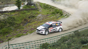 Rally portugal Stock Images