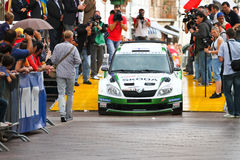 Rally race car Royalty Free Stock Images