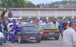 Rally Race Casale Monferrato Stock Image