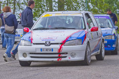 Rally Race Casale Monferrato Royalty Free Stock Images