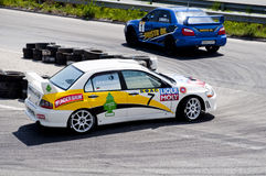 Rally racing Veliko Tarnovo Stock Photography