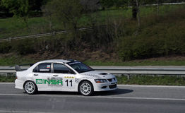 Rally racing Veliko Tarnovo Royalty Free Stock Photo