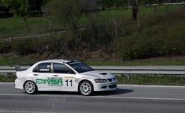 Rally racing Veliko Tarnovo royalty free stock photo