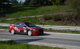 Rally racing Veliko Tarnovo 2011 Stock Image