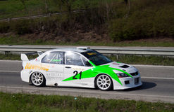 Rally racing Veliko Tarnovo 2011 Stock Photography