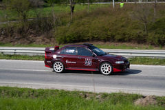 Rally racing Veliko Tarnovo 2011 Royalty Free Stock Image