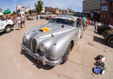 Rally of retro-cars  Stock Photography