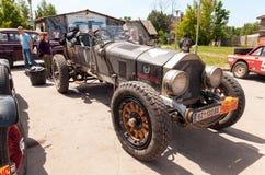 Rally of retro-cars  Royalty Free Stock Photo