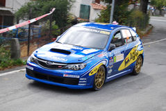 Rally Sanremo 2008. Event: 50° Rally Sanremo - IRC (Intercontinental Rally Challenge) - European Rally Cup - Italian Rally Champioship Royalty Free Stock Images