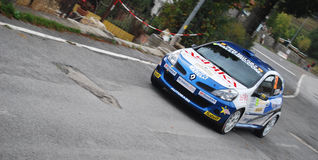 Rally Sanremo 2008. Event: 50° Rally Sanremo - IRC (Intercontinental Rally Challenge) - European Rally Cup - Italian Rally Champioship Royalty Free Stock Photos